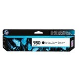 HP Black Original Ink Cartridge 980 [D8J10A] - Tinta Printer Wide Format HP