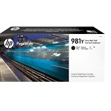 HP Black Original PageWide Cartridge 981Y [L0R16A] - Tinta Printer Wide Format HP