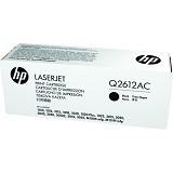 HP Business Black Contract Original LaserJet Toner Cartridge [Q2612AC] - Toner Printer Hp