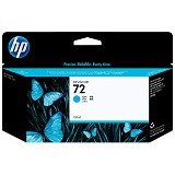 HP Cyan Ink Cartridge 72 [C9371A] - Tinta Printer Wide Format HP