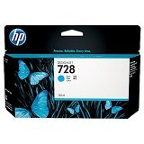 HP Cyan Ink Cartridge 728 [F9J67A] - Tinta Cartridge Wide Format HP