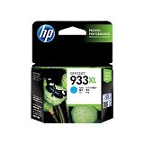 HP Cyan Ink Cartridge 933XL [CN054AA] - Tinta Printer Hp