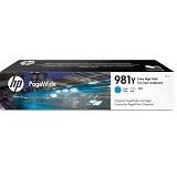 HP Cyan Original PageWide Cartridge 981Y [L0R13A]