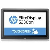 HP LED Monitor Touch EliteDisplay S230tm 23-inch [E4S03AA] - Monitor Led Above 20 Inch