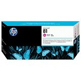 HP Magenta Dye Printhead and Printhead Cleaner 81 [C4952A] - Tinta Cartridge Wide Format Hp