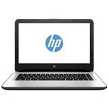 HP Notebook 14-af118AU Non Windows - Silver (Merchant) - Notebook / Laptop Consumer Amd Quad Core