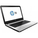HP Notebook 14-an029AU Non Windows - Silver (Merchant) - Notebook / Laptop Consumer Amd Quad Core