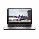 HP Notebook 14-an031AU Non Windows - Silver (Merchant) - Notebook / Laptop Business Amd Quad Core
