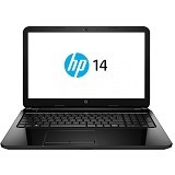 HP Notebook 14-g102AU Non Windows - Black (Merchant) - Notebook / Laptop Consumer Amd Quad Core