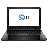 HP Notebook 14-r202TX Non Windows - Silver