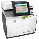 HP PageWide Color MFP 586f [G1W40A] - Printer Bisnis Multifunction Inkjet