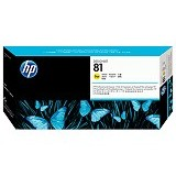 HP Yellow Dye Printhead and Printhead Cleaner 81 [C4953A] - Tinta Cartridge Wide Format Hp