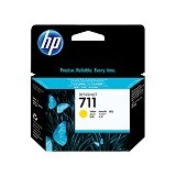 HP Yellow Ink Cartridge 711 [CZ132A] - Tinta Printer Wide Format HP