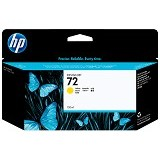HP Yellow Ink Cartridge 72 [C9373A] - Tinta Cartridge Wide Format Hp