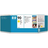 HP Yellow Ink Cartridge 90 [C5064A] - Tinta Printer Wide Format HP