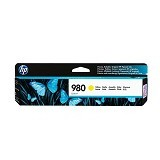HP Yellow Original Ink Cartridge 980 [D8J09A] - Tinta Printer Wide Format HP