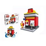 HSANHE 6404 Fast Food [305002263] - Building Set Fantasy / Sci-Fi