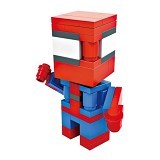 HSANHE Action Figure Cube Nano Micro World Series Spiderman [6306] - Building Set Movie