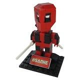 HSANHE Action Figure Lego Cube Nano Micro World Series Deadpool [6323]