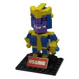 HSANHE Action Figure Lego Cube Nano Micro World Series Thanos [6327] - Building Set Movie