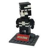 HSANHE Action Figure Lego Cube Nano Micro World Series Venom [6322] - Building Set Movie
