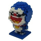 HSANHE Action Figure Nano Blocks World Series Doraemon [115] - Building Set Movie