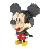 HSANHE Action Figure Nano Blocks World Series Mickey Mouse [120] - Building Set Movie