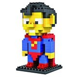 HSANHE Action Figure Nano Blocks World Series Superman [119] - Building Set Movie