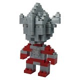 HSANHE Action Figure Nano Blocks World Series Ultraman Taro [201] - Building Set Movie