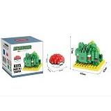 HSANHE Bricks Hsanhe Bulbasaur Pokemon [8325] - Building Set Education