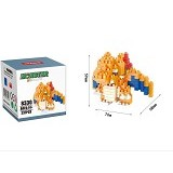 HSANHE Bricks Hsanhe Charizard Pokemon [8330] - Building Set Education