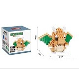 HSANHE Bricks Hsanhe Dragonite Pokemon [8331] - Building Set Education