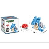 HSANHE Bricks Hsanhe Lapras Pokemon [8328] - Building Set Education
