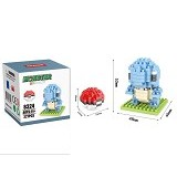 HSANHE Bricks Hsanhe Squirtle Pokemon [8324] - Building Set Education