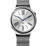 HUAWEI SmartWatch W1 Stainless Case Leather Steel [HUAWEI-W1-LSMS] - Smart Watches