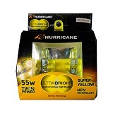 HURRICANE Ultrabright H1 55W - Super Yellow (Merchant) - Lampu Mobil