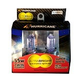 HURRICANE Ultrabright H4 55W - Super White (Merchant) - Lampu Mobil