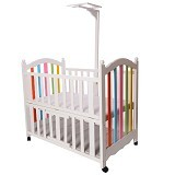 Hakari Baby Bed Bella [HK 039] - White (Merchant) - Baby Box