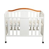 Hakari Baby Bed Santi [HK 099] - White (Merchant) - Baby Box