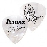 IBANEZ Guitar Pick Paul Gilbert Signature [1000PGPW] - Pearl White - Guitar Pick