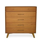 iFURNHOLIC Andro Mid Century High Chest - Drawer