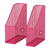 IKEA PRODUCTS Dokument Magazine File Set [102.194.75] - Pink (V) - Box File