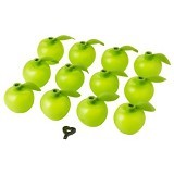 IKEA PRODUCTS Solvinden Decoraton For Lighting Chain [503.020.19] - Apple Shaped Green (V) - Lampu Gantung