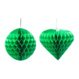 IKEA PRODUCTS Visionar Decoration 30cm - Green Heart (V) - Wall Art / Hiasan Dinding