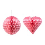 IKEA PRODUCTS Visionar Decoration 30cm - Pink Heart (V) - Wall Art / Hiasan Dinding