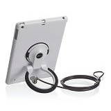 ILOCK Ingamar Security Case with Holder & Lcok for iPad Air & Air 2 [IG309W] - Pc Security Lock