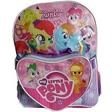 INDO BAGS Tas Ransel SD My Little Pony with Bag Set - Tas Anak