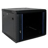 "INDORACK 19"" Wallmount 8U-450mm [WIR4508S] - Rack System Wallmount"