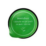 INNISFREE Capsule Recipe Pack / mini pack Green Tea moisturizing (Merchant) - Krim / Pelembab Wajah
