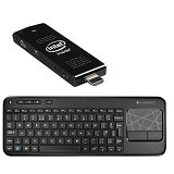 INTEL Compute Stick + Keyboard Wireless Logitech - Desktop Mini Pc Intel Atom
